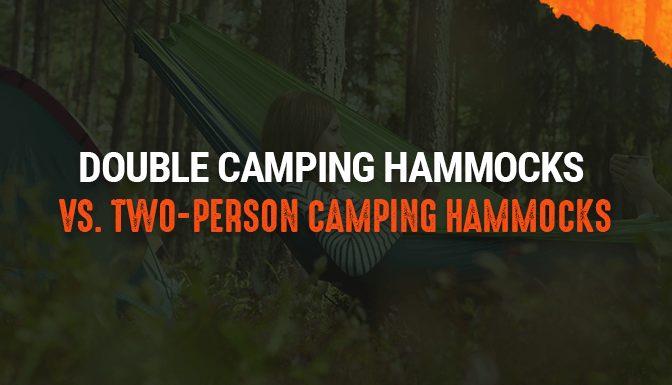 double camping hammock vs 2 person comparison